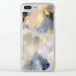 Geode Blues Clear iPhone Case