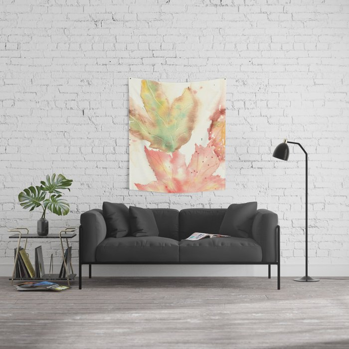 Fall Leaves 2016 Wall Tapestry