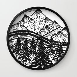 MTN Scape Wall Clock
