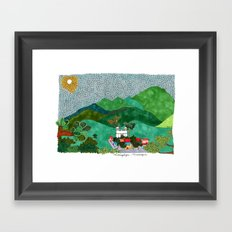 Matagalpa, Nicaragua Framed Art Print
