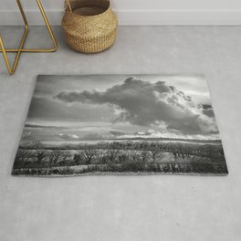 Towering Clouds Over Wiltshire Rug