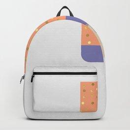 Icecream orange Backpack