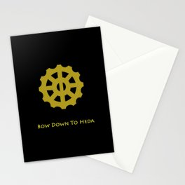 Bow Down To Heda 2 Stationery Cards