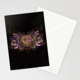 Triple Moon - Triple Goddess -Midnight shimmer Stationery Cards