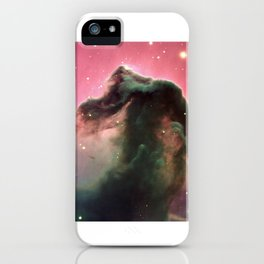 """Horsehead"" Nebula Society6 Planet Prints iPhone Case"