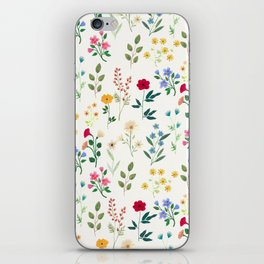 Spring Botanicals iPhone Skin