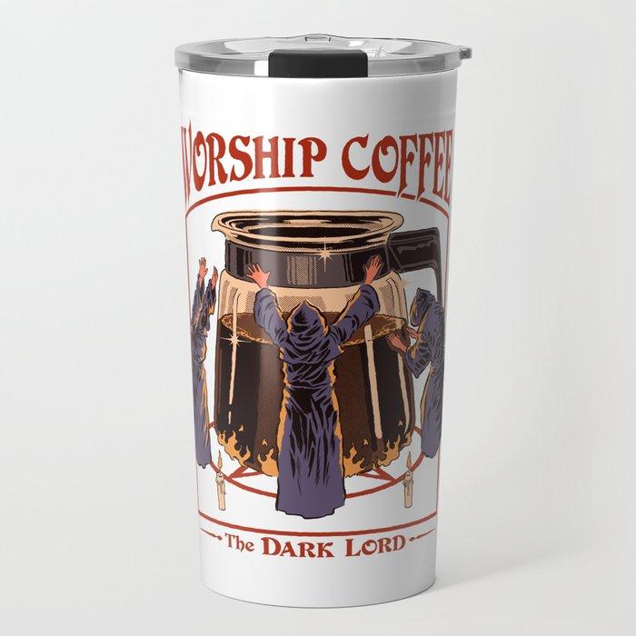Worship Coffee Travel Mug