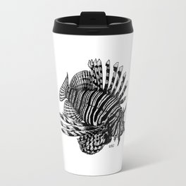 Red Lionfish - Beauty Is The Beast Travel Mug