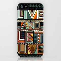 LIVE & LET LIVE Slim Case iPhone (5, 5s)
