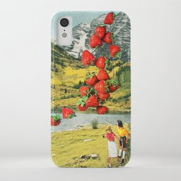 Strawberry Avalanche iPhone Case