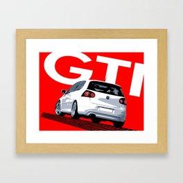 Golf GTI MKV MK5 Framed Art Print