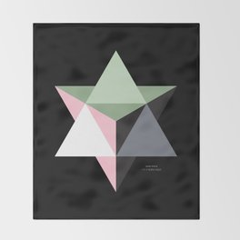 MI MERKABA - Dark State Throw Blanket