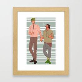 midorima x takao- KNB Framed Art Print