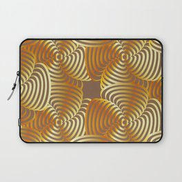 Gold floral art Laptop Sleeve