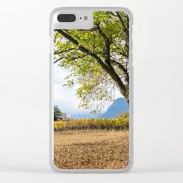 Oak And Grapevines Clear iPhone Case