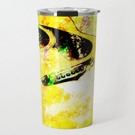 Abstract Guitar Travel Mug