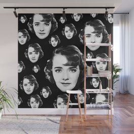 Floating Ruby Keeler Head Wall Mural