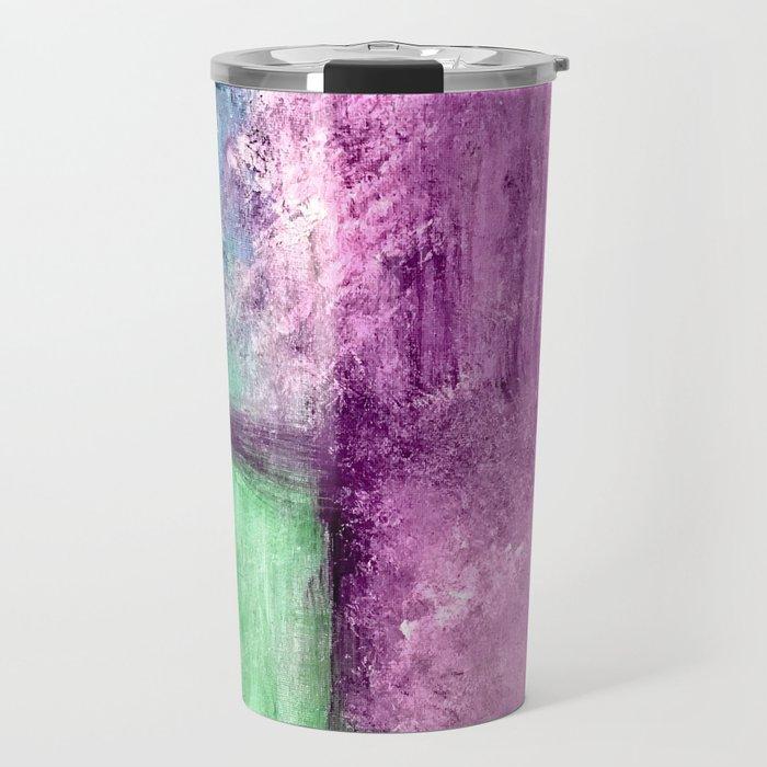 Abstract Window Travel Mug