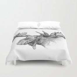 Moose , orignal Duvet Cover