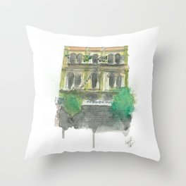 60 Cuba Street Throw Pillow