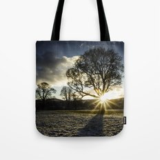 A Winters Sunset Tote Bag