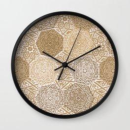 Sandalwood Souk Wall Clock