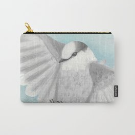 Gray Jay in Flight Carry-All Pouch