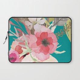 Flowers , floral , shabby chic décor,  flower decor , Laptop Sleeve