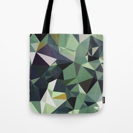 Martinique Low Poly Tote Bag