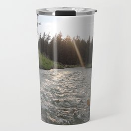 Rafting Down the Snake River Travel Mug