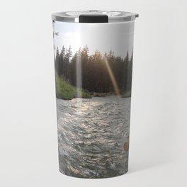 Rafting Down the Snake River Travel Mug