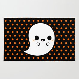 Cute spooky ghost Rug