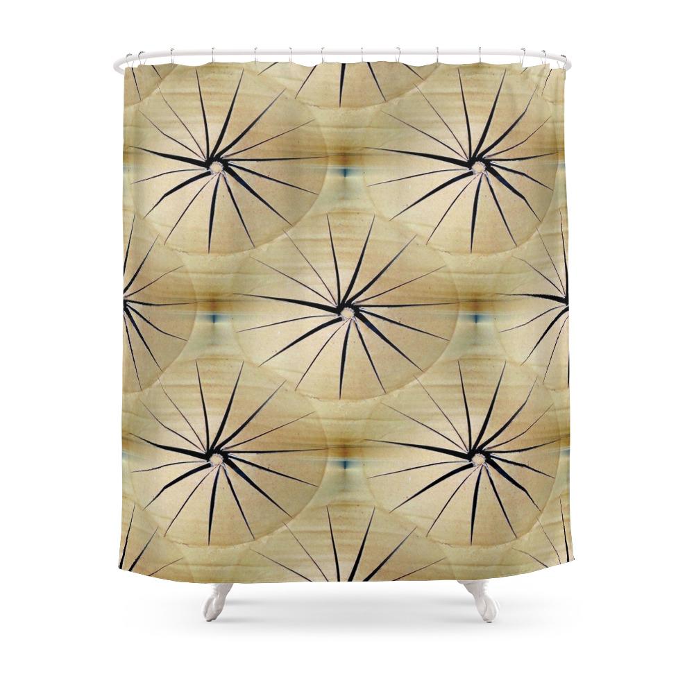 Paper Parasols Shower Curtain by artisimo (CTN7740657) photo