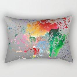 Colorful greetings Rectangular Pillow