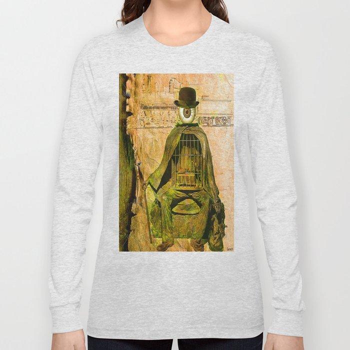 Monsieur Bone et la liberté Long Sleeve T-shirt