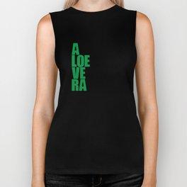 aloevera - keep calm and use aloe vera Biker Tank