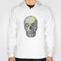 aladdin Hoodies featuring Aladdin Sane Skull by Computarded