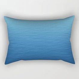 Where did all the waves go? Rectangular Pillow