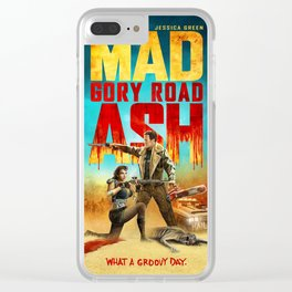 Mad Ash Gory Road Clear iPhone Case