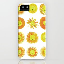 Lion heads iPhone Case