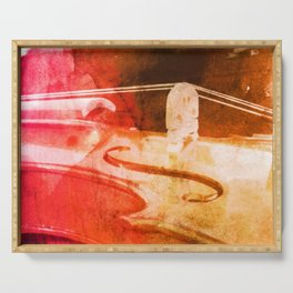 Color Violin, products from my limited edition print Serving Tray