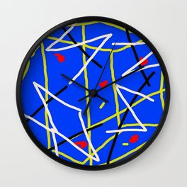 Electric Midnight Wall Clock