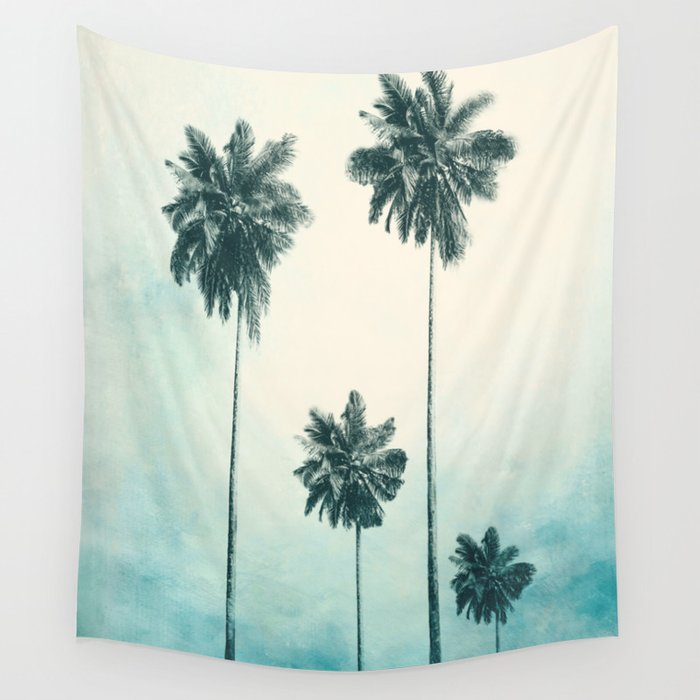 Palm Trees Wall Tapestry by