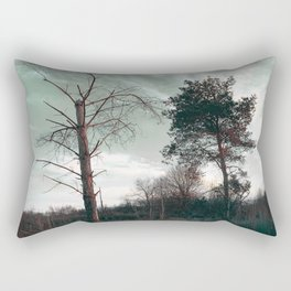 Dead Tree - Live and Die Rectangular Pillow