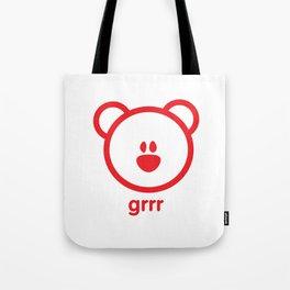 Bear : grrr Tote Bag
