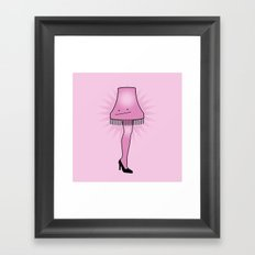 Ditto Lamp Framed Art Print
