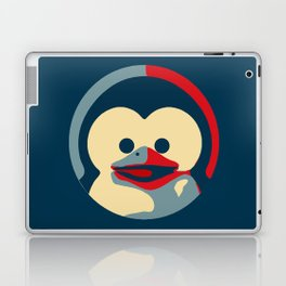 Linux tux penguin obama poster baby  Laptop & iPad Skin