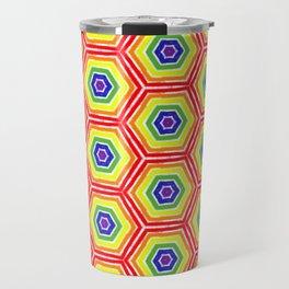 Pride Honeycomb Travel Mug