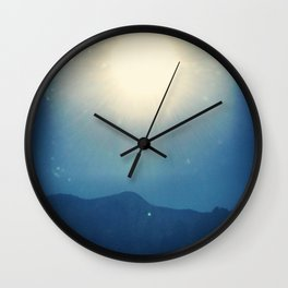 Glimpse of Summer  Wall Clock