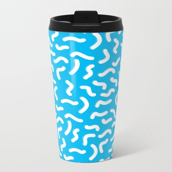 LA Real Estate Metal Travel Mug